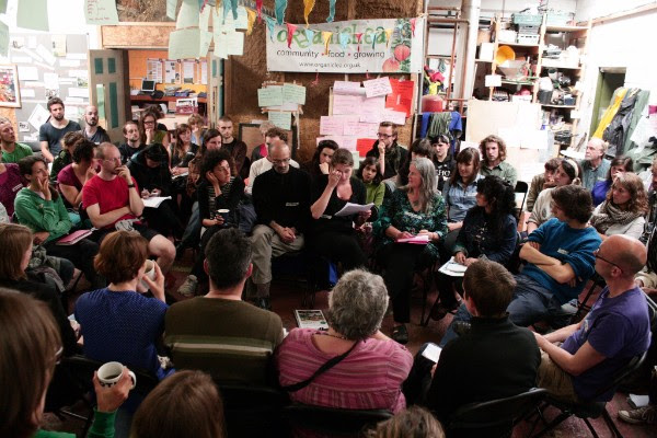 Roundtable workshop, at OrganicLea