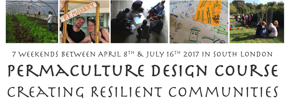 Permaculture design course - creating resilient communities