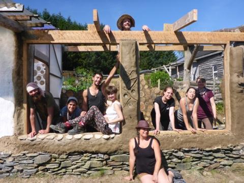 Lammas Build Wales